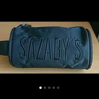サザビー(SAZABY)のSAZABY サザビー 筒型バッグ 黒(ハンドバッグ)