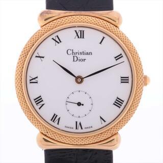 Christian Dior - クリスチャンディオール  GP×革   メンズ 腕時計