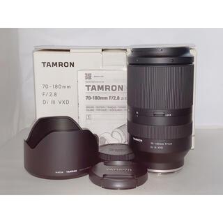 TAMRON - 【美品】TAMRON 70-180mm F/2.8 Di III VXD ソニー