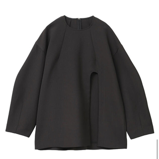 STUDIOUS - 【CLANE】ARCH CUT DOUBLE CLOTH TOPS