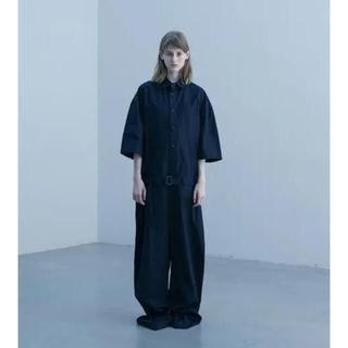 SUNSEA - stein 20ss oversized jumpsuits ブラック 美品