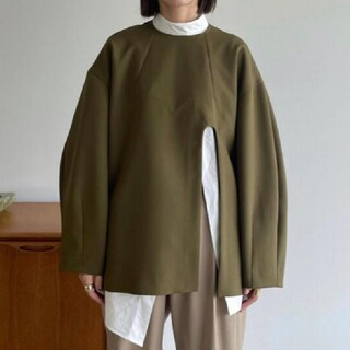 STUDIOUS - 新品タグ付 CLANE ARCH CUT DOUBLE CLOTH TOPS