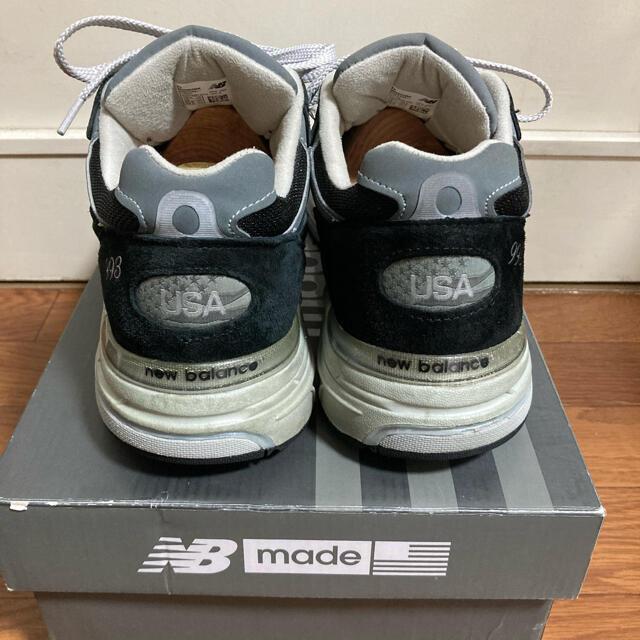 New Balance(ニューバランス)のニューバランス New Blance 993 ブラック 28.5cm D メンズの靴/シューズ(スニーカー)の商品写真