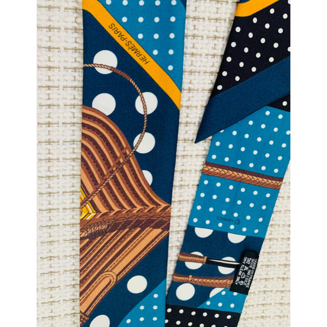 Hermes(エルメス)のエルメス ツイリー   クリッククラック レディースのファッション小物(バンダナ/スカーフ)の商品写真