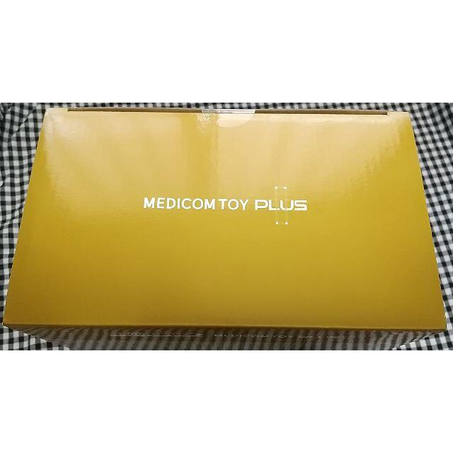 MEDICOM TOY(メディコムトイ)のBE@RBRICK GOLD CHROME Ver. 100% & 400% エンタメ/ホビーのおもちゃ/ぬいぐるみ(ぬいぐるみ)の商品写真