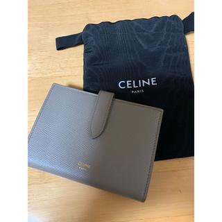 celine - CELINE ミディアムストラップウォレット