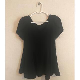 スナイデル(snidel)のsnidel ペプラムTシャツ(Tシャツ(半袖/袖なし))