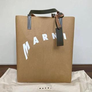Marni - 【値下げ中】未使用 MARNI マルニ セルロース ショッピング トートバッグ