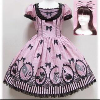 Angelic Pretty - Cinema doll ワンピース カチューシャ Set