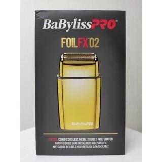 Babyliss PRO FOILFX02 cordless シェイバー(メンズシェーバー)