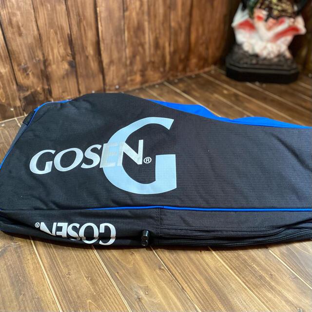 GOSEN(ゴーセン)の【新品】定価8800円 GOSEN  ラケットバック テニス バドミントン 送料 スポーツ/アウトドアのテニス(バッグ)の商品写真