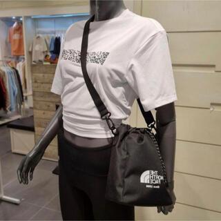 ザノースフェイス(THE NORTH FACE)の新品 ノースフェイス 黒 ブラック バケツバッグ ショルダーバッグ 巾着2way(ショルダーバッグ)