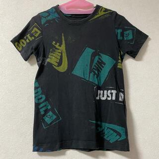 NIKE - NIKE ナイキ 140 S 半袖 tシャツ 総柄 Tシャツ トップス キッズ