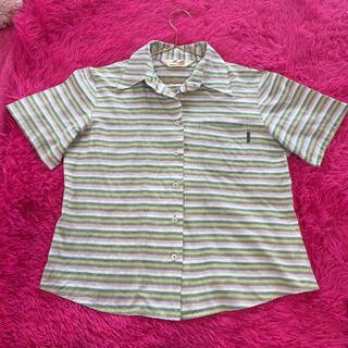 マンゴ(MANGO)のMango ストラップ かりゆしウェア(シャツ/ブラウス(半袖/袖なし))