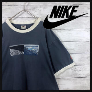 NIKE - 【90年代白タグNIKE】Tシャツ フロントプリント vintage NIKE