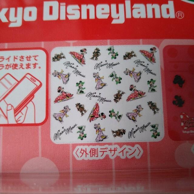 ディズニーランド スマホケース ミニーマウス スマホ/家電/カメラのスマホアクセサリー(モバイルケース/カバー)の商品写真