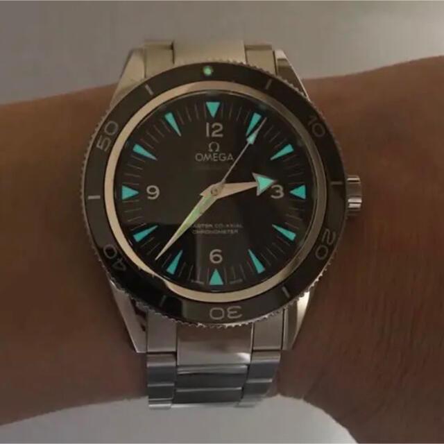 OMEGA(オメガ)のOMEGA オメガ シーマスター 300 マスターコーアクシャル 正規品 腕時計 メンズの時計(腕時計(アナログ))の商品写真
