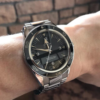 OMEGA - OMEGA オメガ シーマスター 300 マスターコーアクシャル 正規品 腕時計