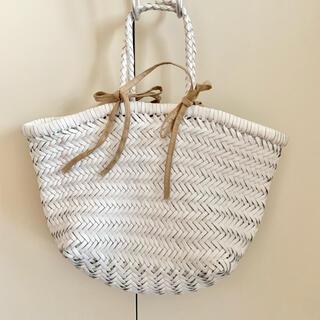 TOMORROWLAND - GALERIE VIE 購入 dragon バッグ ホワイト かごバッグ