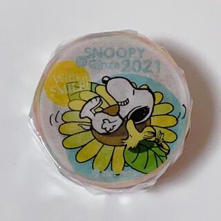 スヌーピー(SNOOPY)のスヌーピーin銀座2021限定 マスキングテープ  フラワー(テープ/マスキングテープ)