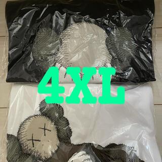 UNIQLO - KAWS UNIQLO Tシャツ 4XL 2枚セット ダークグレー 白