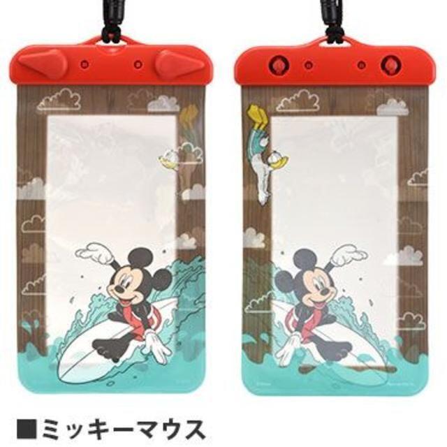 ミッキーマウス(ミッキーマウス)のミッキー スマホケース 防水ケース 防水ポーチ スマホ/家電/カメラのスマホアクセサリー(iPhoneケース)の商品写真