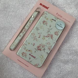 ⑤ クチナシ  花柄 手帳型 スマホケース iPhoneケース フラワー