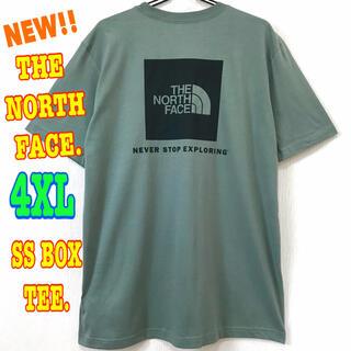 THE NORTH FACE - レアカラー  ♪ ノースフェイス  BOX Tシャツ モスグリーン 4XL 5L