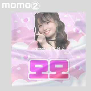 ウェストトゥワイス(Waste(twice))の*・.。 twice momo slogan .*・゚pink ver2️⃣(K-POP/アジア)
