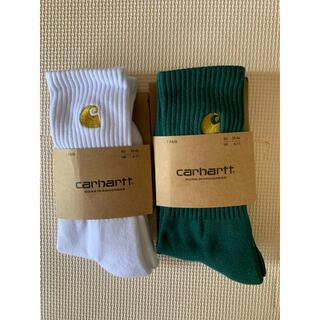 carhartt - カーハート carhartt ソックス2点 グリーン 白
