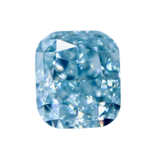 FANCY GREENISH BLUE* 0.419ct X/RT0523/CG