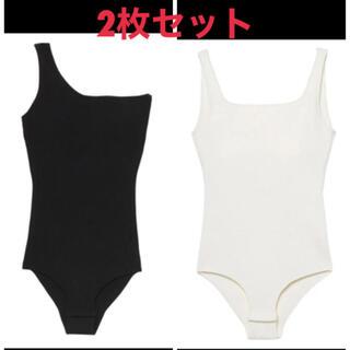 eimy istoire - 未使用タグ付♡ボディスーツ2枚セット