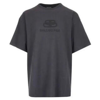 Balenciaga - BALENCIAGA オーバーサイズロゴTシャツ