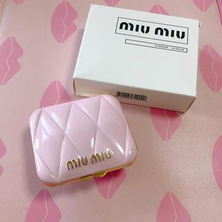 miumiu - Miumiu ノベルティ コンパクトミラー