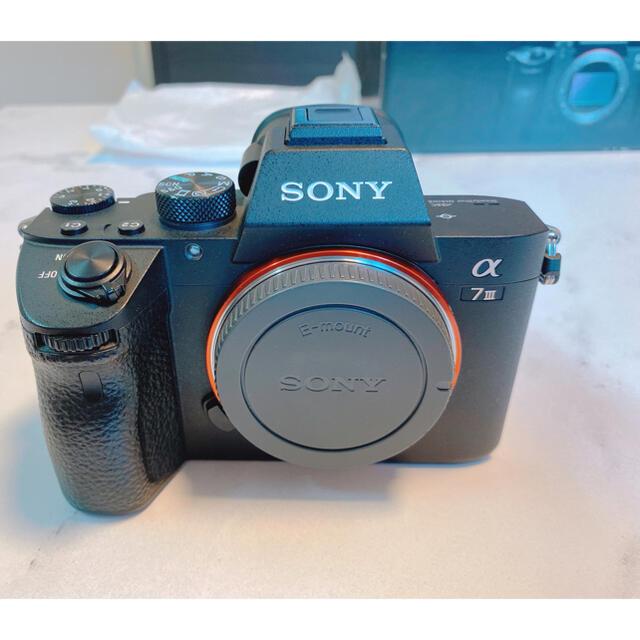 SONY(ソニー)の【美品】SONY a7iii ILCE-7M3 ボディ スマホ/家電/カメラのカメラ(ミラーレス一眼)の商品写真