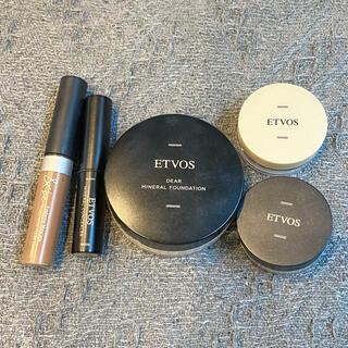 ETVOS - ETVOS ファンデーション コンシーラー &be アイブロウマスカラ