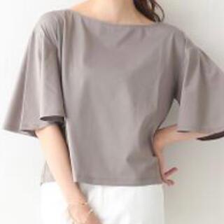 qualite - カリテ 2way 袖フレアTシャツ