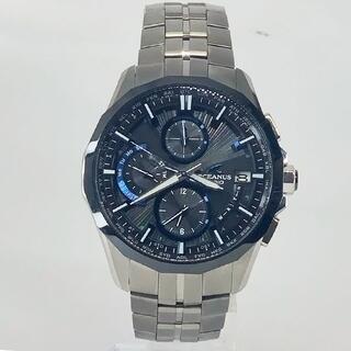 カシオ(CASIO)のカシオ オシアナス マンタ OCW-S3001-1AJF(腕時計(アナログ))