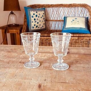 ラ ロシェール  ヴェルサイユ ワイングラス2個セット