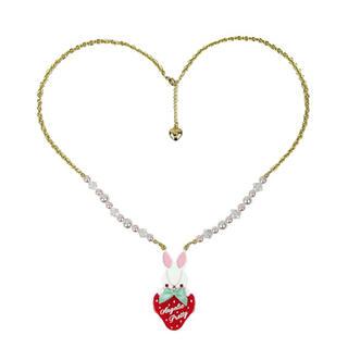アンジェリックプリティー(Angelic Pretty)のLittle Bunny Strawberryネックレス(ネックレス)