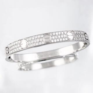 Cartier - 【仕上済】カルティエ ラブブレス 新型 WG 15 ダイヤ ブレスレット
