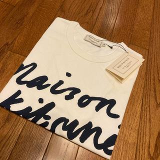 MAISON KITSUNE' - ☆新品 メゾンキツネ  Tシャツ ホワイト Sサイズ