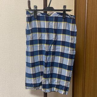 ビューティアンドユースユナイテッドアローズ(BEAUTY&YOUTH UNITED ARROWS)のroku チェックタイトスカート(ひざ丈スカート)
