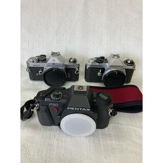 PENTAX - PENTAX 本体のみ 3台 ジャンク品 シルバー ブラック フィルムカメラ