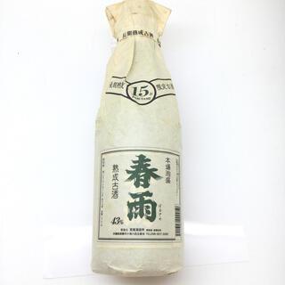 春雨 15年限定古酒 本番泡盛 720ml/30% 月桃紙(焼酎)