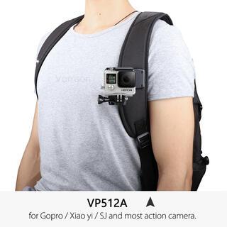 改良版)ネジ付GoPro360°回転式カメラクリップ取り付スタンド スマート