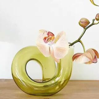 ガラス 花瓶 キャンドルホルダー