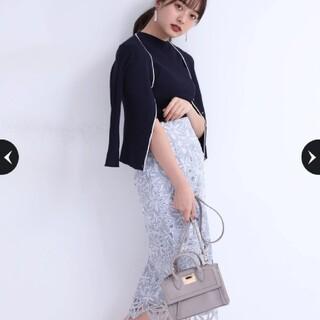 Rirandture - 【新品未使用タグ付き】リランドチュール⭐店舗限定・配色レースタイトスカート