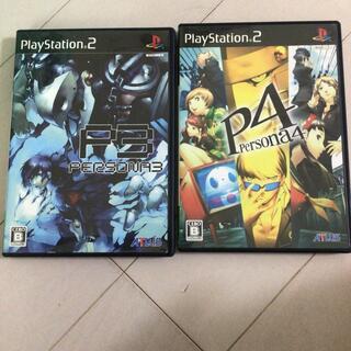 PlayStation2 - ペルソナ3ペルソナ4 PS2