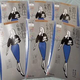 fukuske - フクスケ M-L 満足 着圧心地いい ストッキング パンスト 6足 定価3300